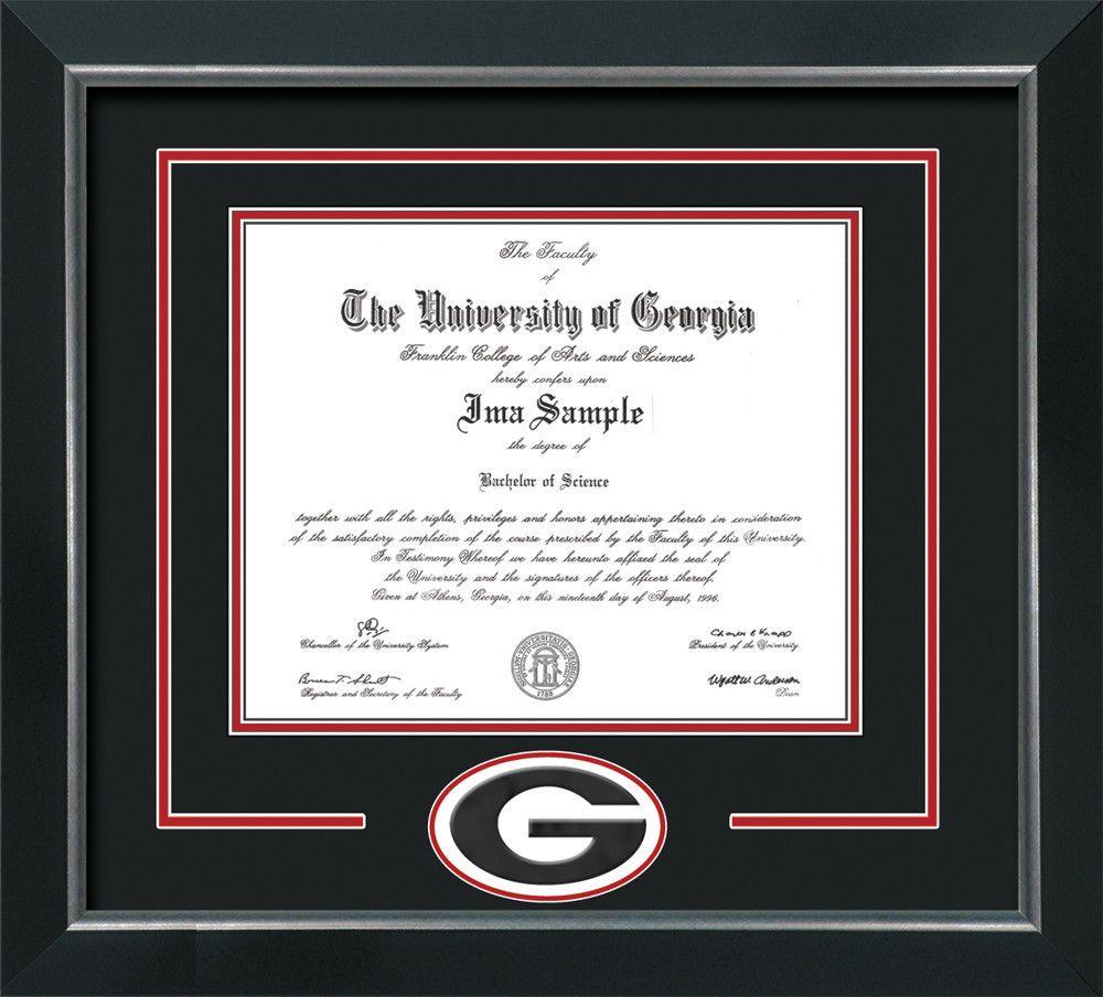 UGA Diploma Frame - Broadway -\