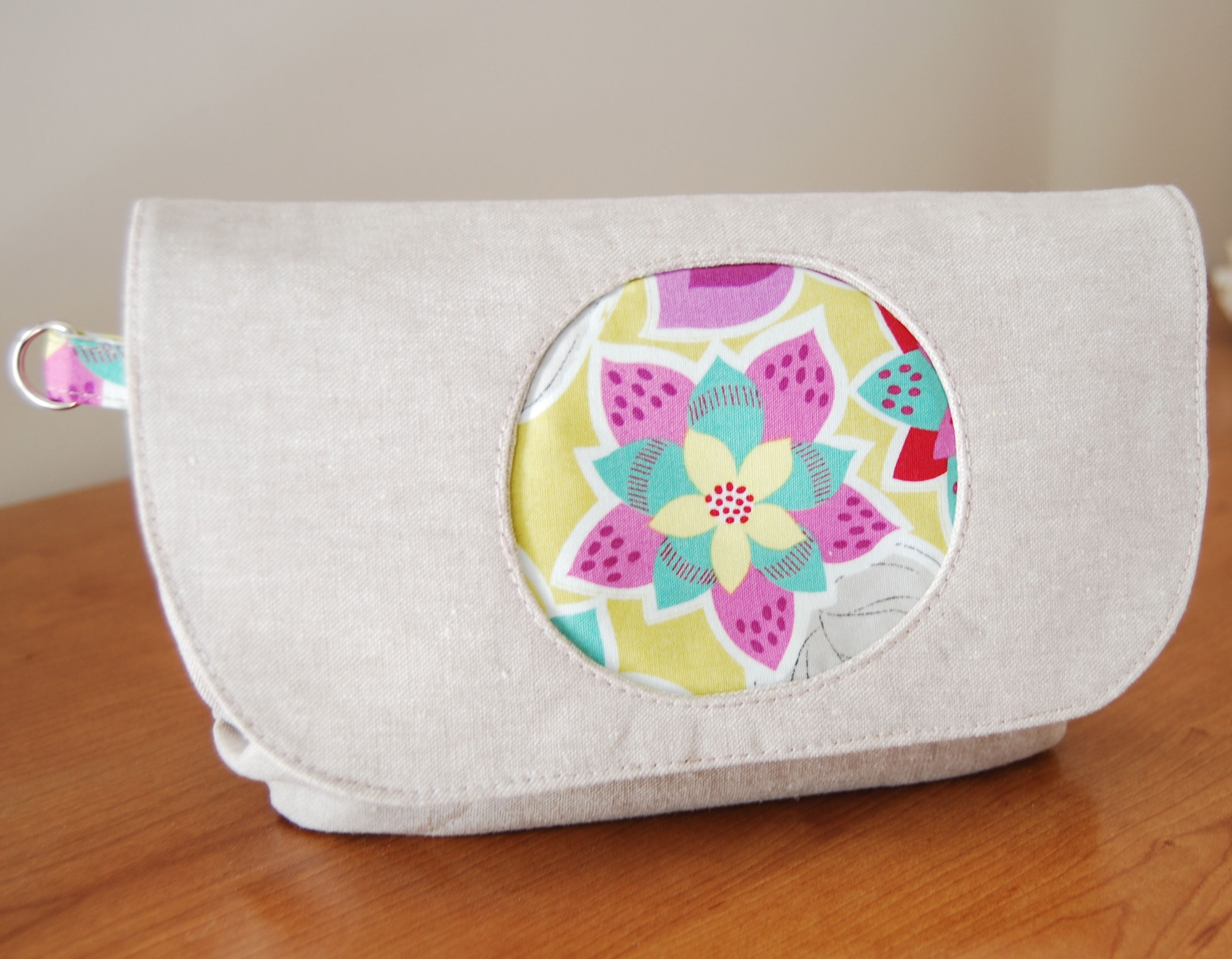 Morning Glory Pouch, a free pattern by Blue Calla Patterns | bag ...