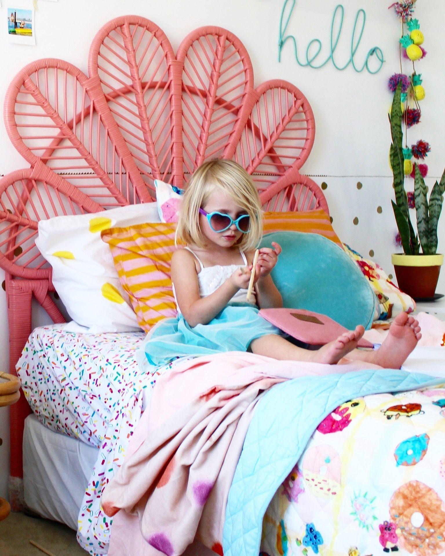 Modern Boho Kids rooms Girls bedroom ideas kids bedding and decor