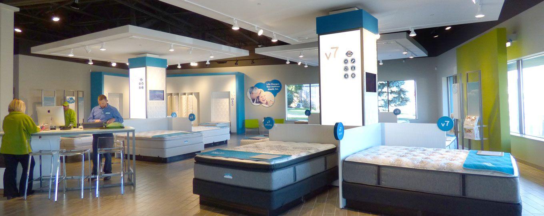 Mattresses | Retail interior design, Retail interior, Retail ...