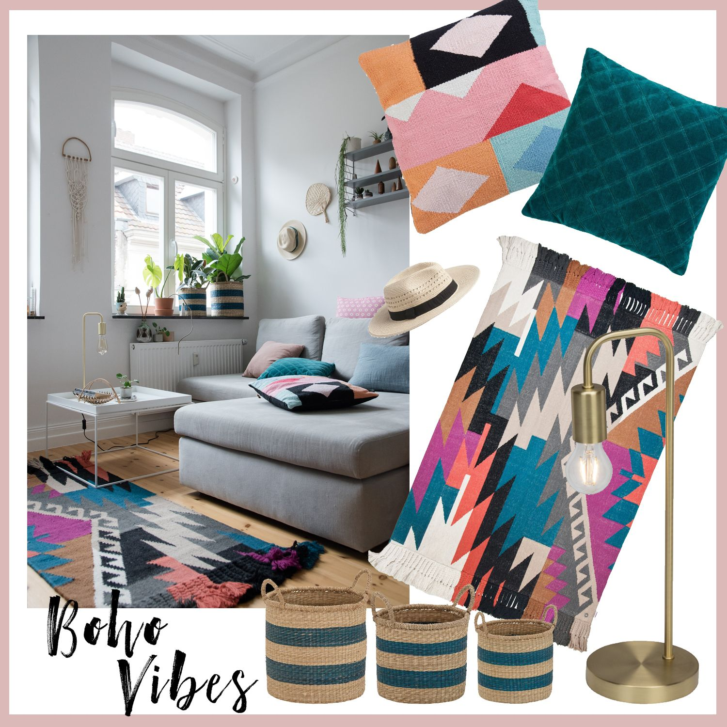 so bringst du den boho style in deine wohnung 5 tipps boho style. Black Bedroom Furniture Sets. Home Design Ideas