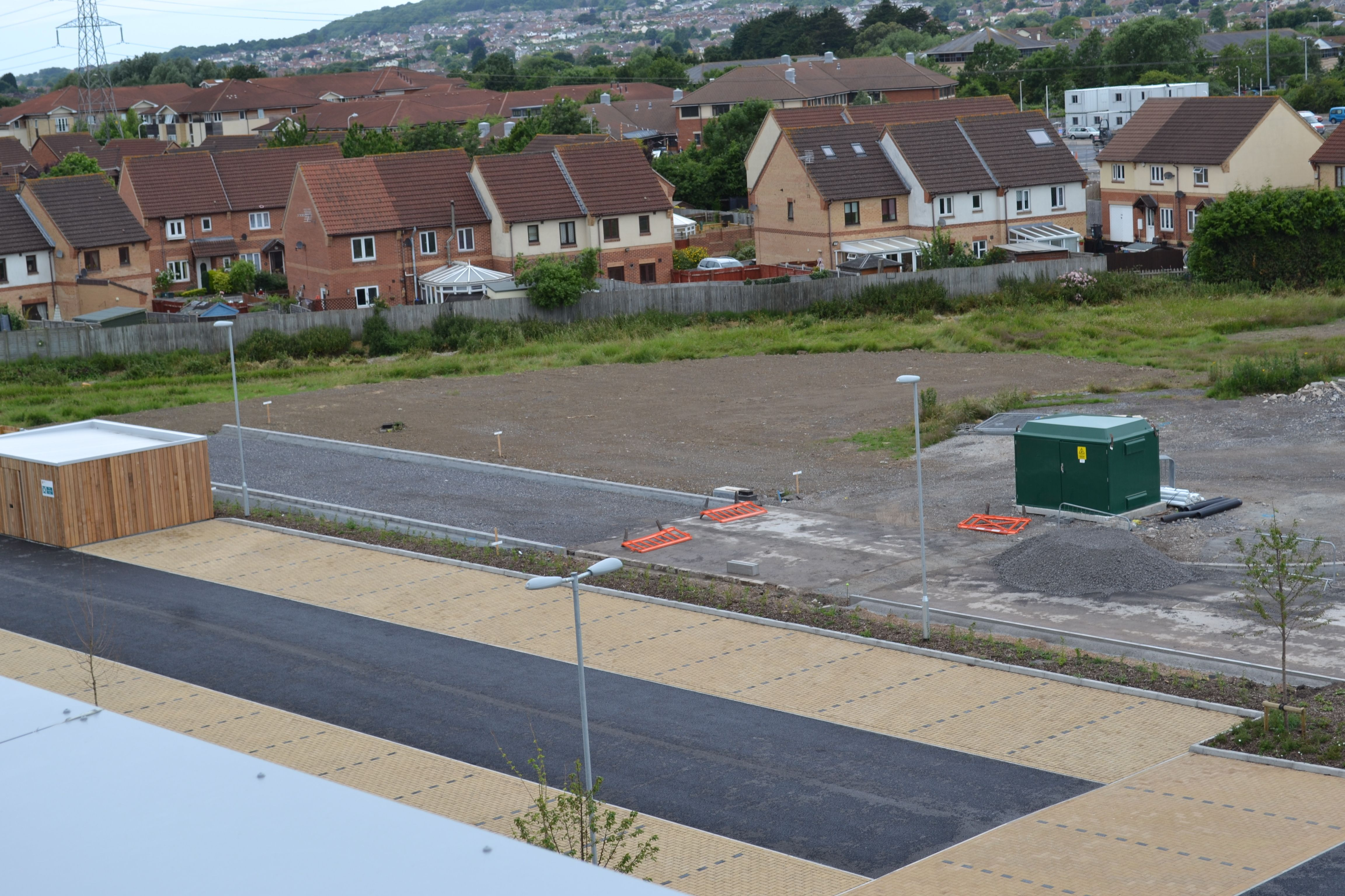 View of the new Knightstone Housing Head Offices. 250 car