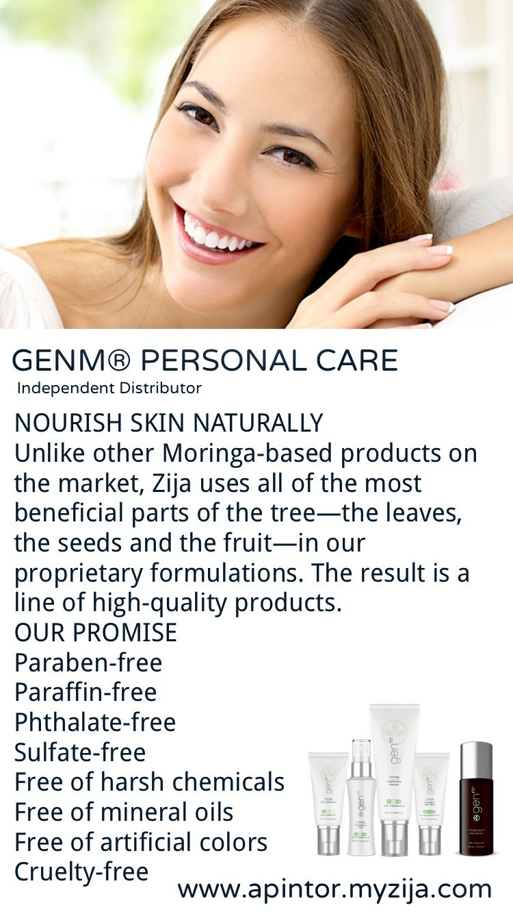 Genm Personal Care Nourish Skin Naturally Moringa Oleifera Independent Distributor For
