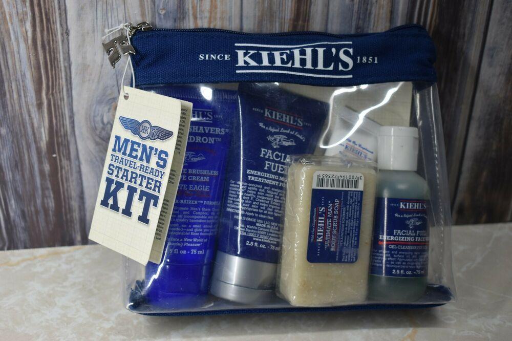 Kiehls mens starter kit 5pc gift set for him salve soap