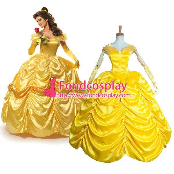 Yellow princess dress costume