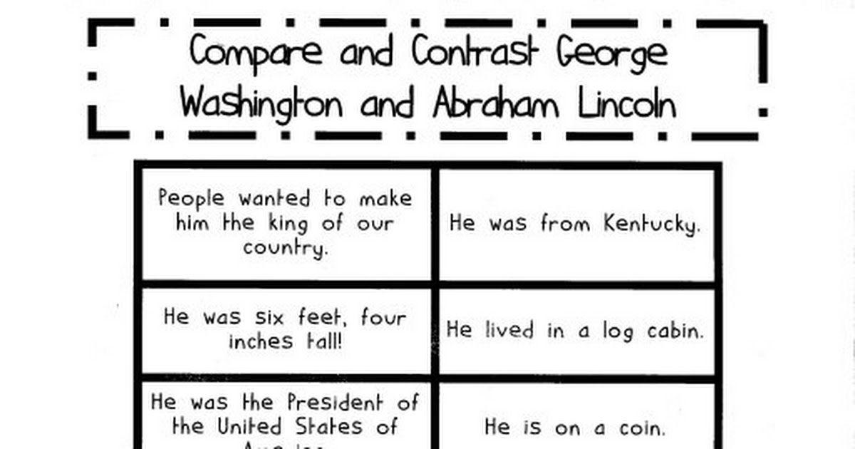 President Venn Diagram 1st Grade Illustration Of Wiring Diagram