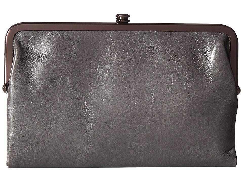 Hobo Glory Graphite Handbags The Hobo Glory is just the classic style youve been looking for Made of leather Magnetic closure Two exterior front and back slip pockets Fla...