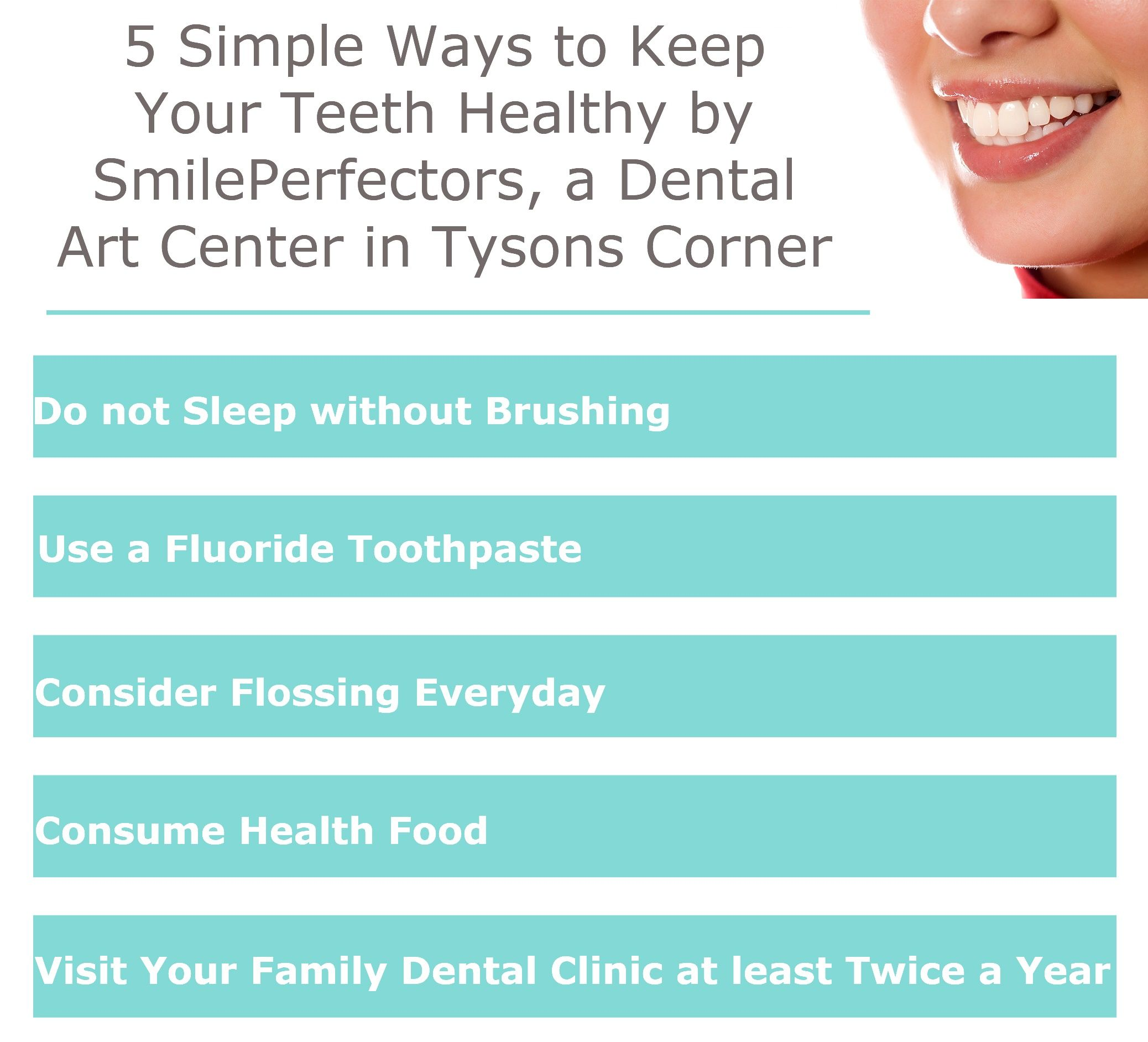 5 Simple Ways to Keep Your Teeth Healthy by ...