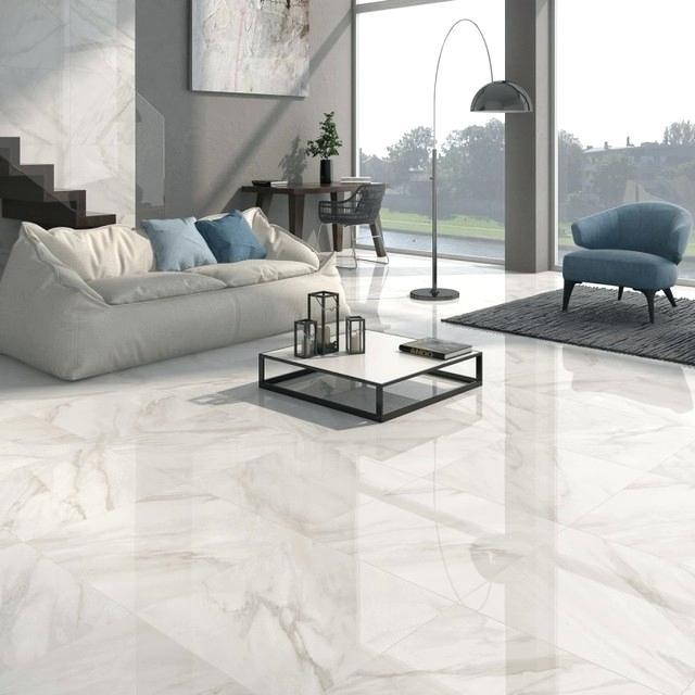 Shiny Laminate Flooring White Gloss White Shiny Floor Tiles As Laminate Flooring High Gloss Silver Oak Lam In 2020 Living Room Tiles White Tile Floor Living Room White
