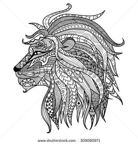 lions art therapy coloring pages pesquisa google