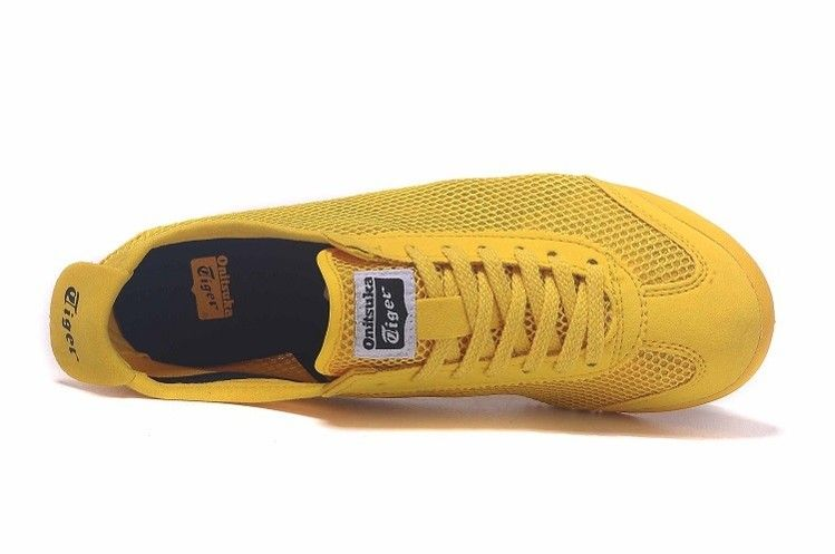 official photos acdb7 72932 Onitsuka Tiger Mexico 66 D508N Gold Fusion/ Black Shoes ...