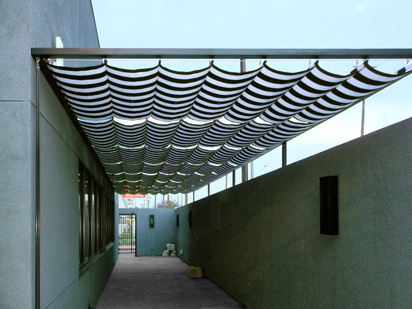 Slide Wire Cable Awnings