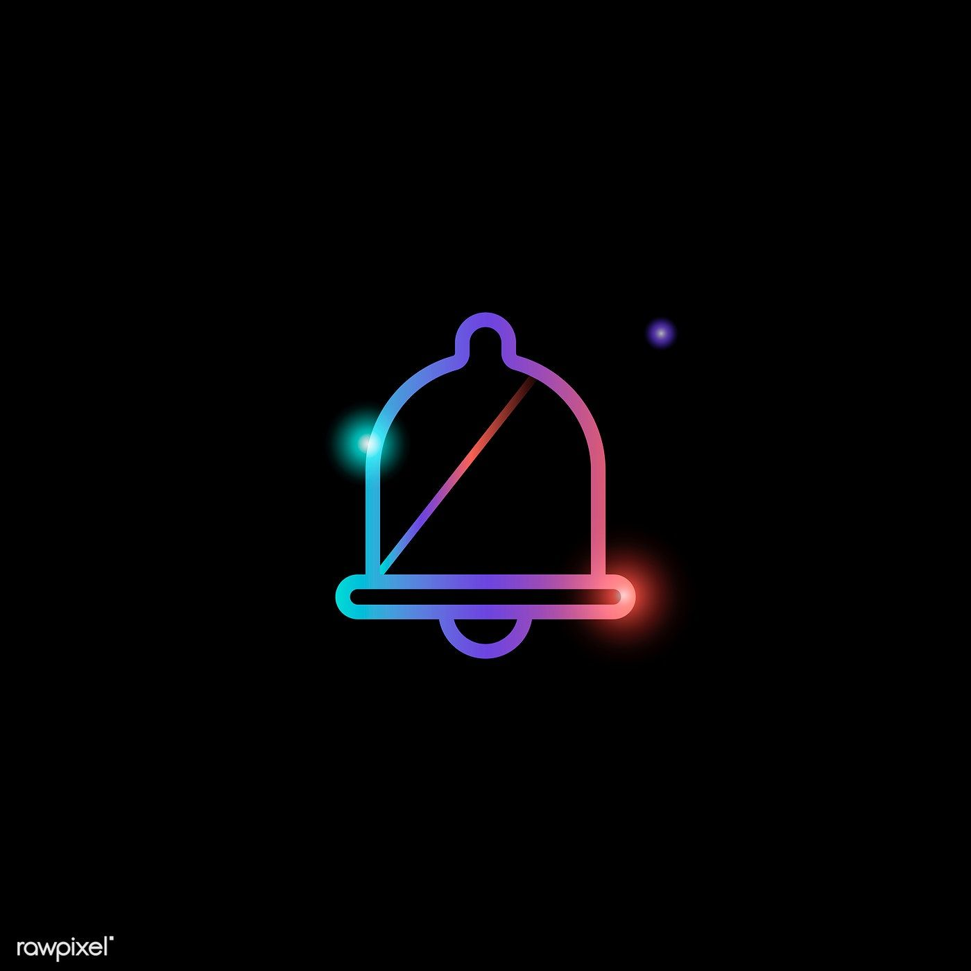 Download Premium Vector Of Bell Social Media Icon Vector 931832 Social Media Icons Vector Social Media Icons Media Icon