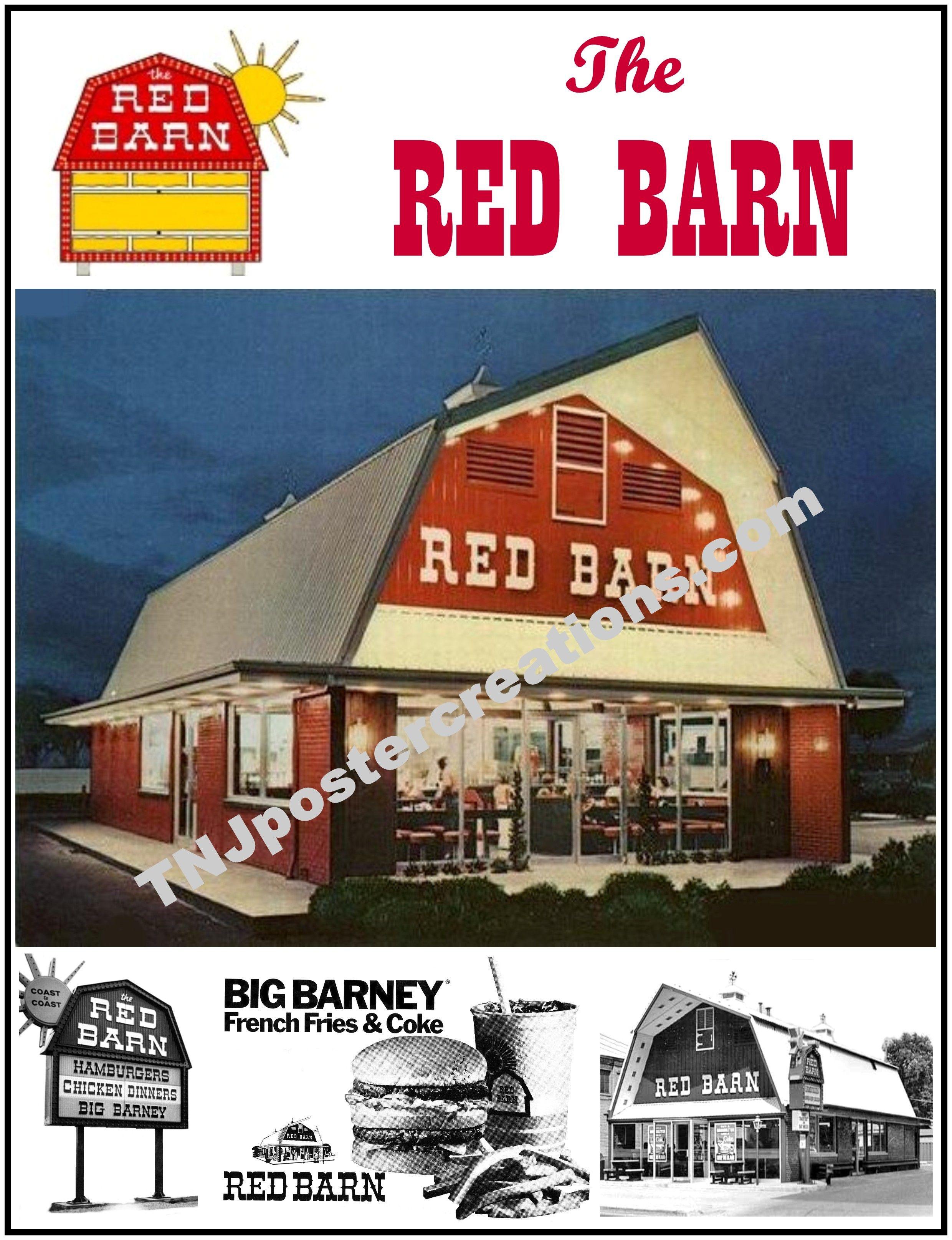 Red Barn Fast Food Restaurant