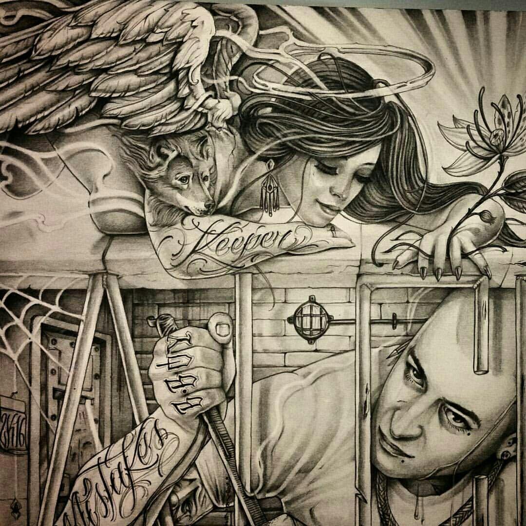 Pin by Dimitar Zlatanov on Chicano Chicano art tattoos