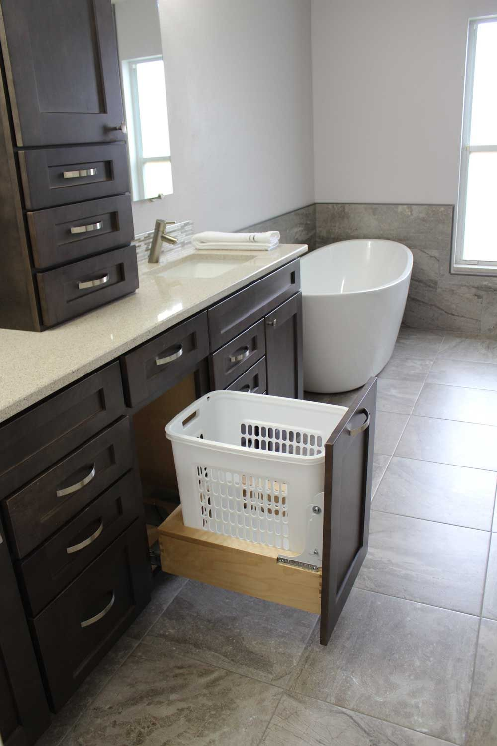 Http Www Cabinets Com Gallery With Images Laundry Hamper