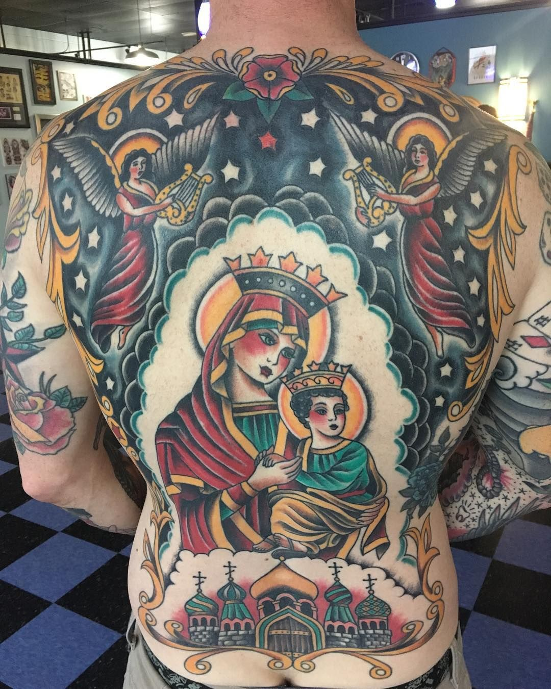by Scott Alvarez (done at Blue Flame Tattoo in Raleigh NC) | bod ...