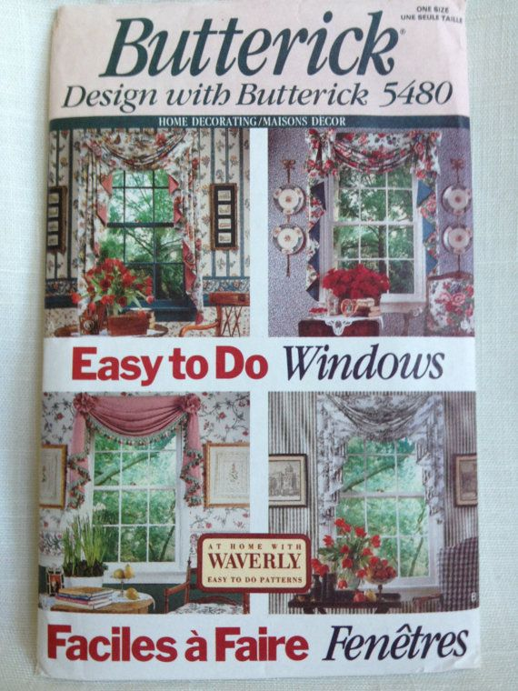 Butterick Pattern 5480 Swags & Jabots by HuntingFourTreasures