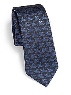 Burberry London - Knight Print Silk Tie