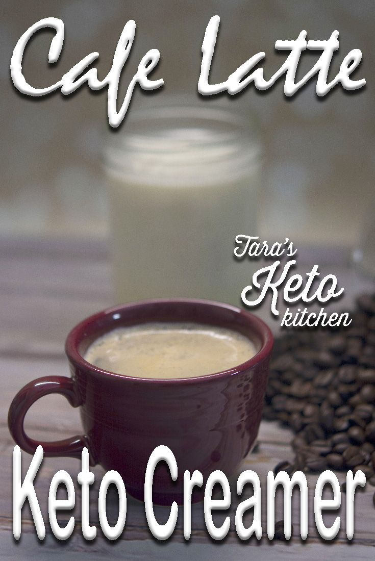 Cafe latte keto creamer recipe healthy starbucks