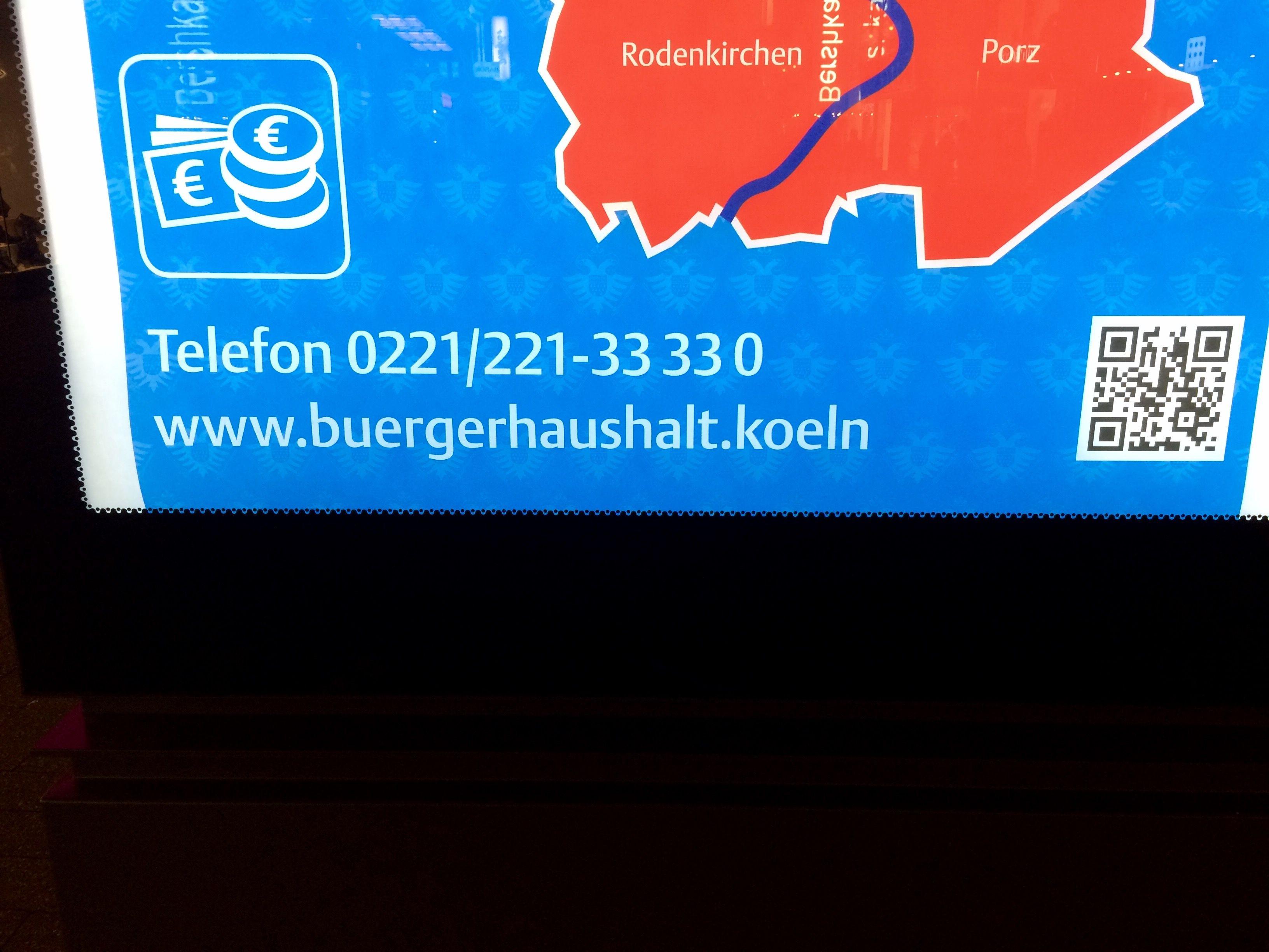 Haushalt Köln