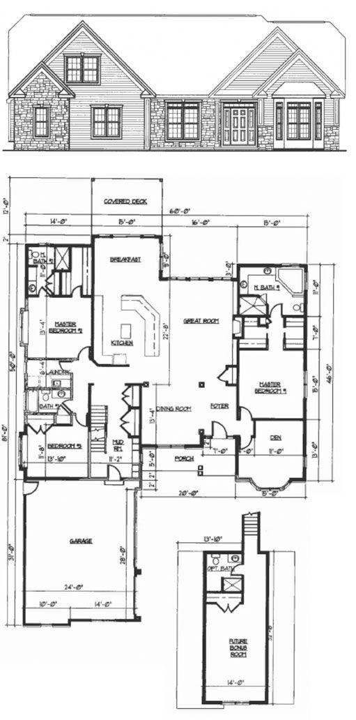 This IS the layout for our dream home. A little bigger in some of the rooms but this is our dream <3