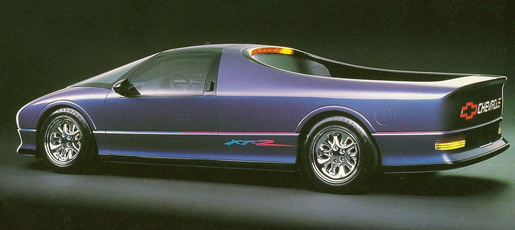 1989 Chevrolet XT-2 - Концепты #conceptcars