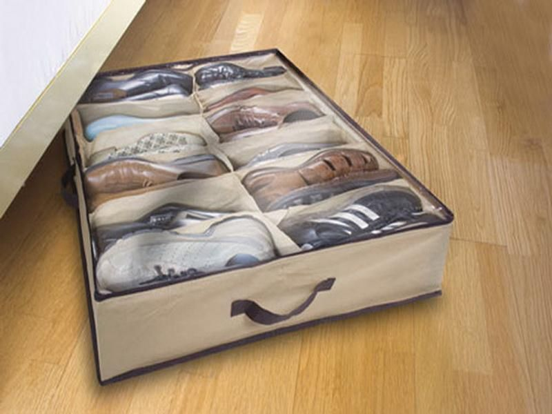 Under Bed Shoe Storage Plastic