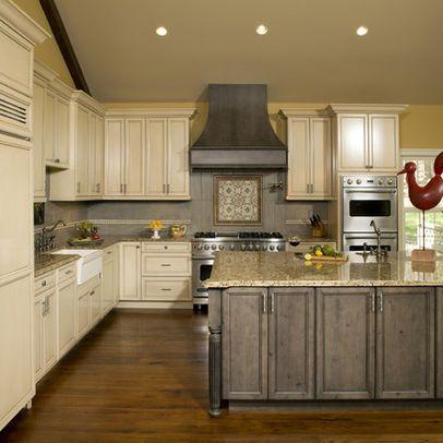 HOOD--Custom Knotty Alder Kitchen - traditional - kitchen ...