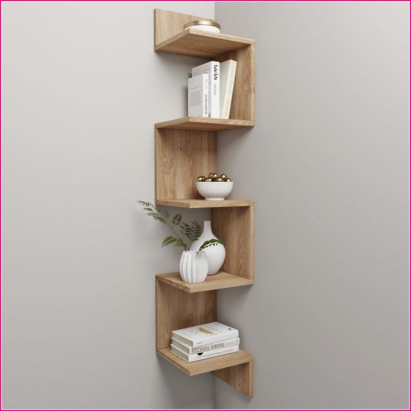 Corner Shelf And Decor Model Max