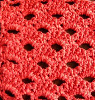Arcade Stitch - Lots of Crochet Stitches