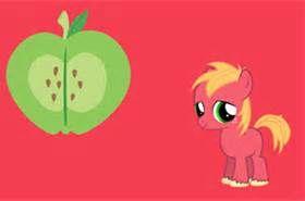 Big Macintosh Pony
