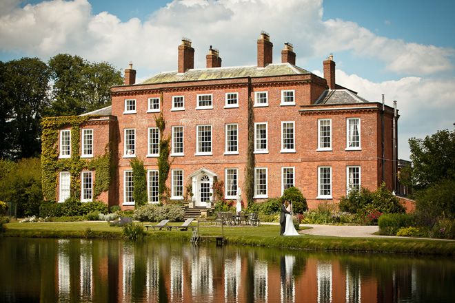 Get Married Outdoors At Delbury Hall Wedding Venue In Shropshire
