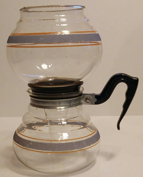This Is A Gorgeous Kent Vacuum Coffee Maker Made In The Early 1940s This Rare Coffee Maker Holds About 4 Vacuum Coffee Maker Vacuum Coffee Vintage Coffee Pot