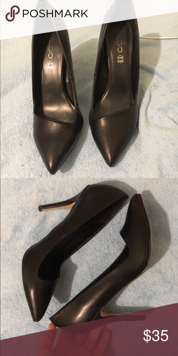 e38ce1f795c9 Black Aldo point toe pumps Classy and comfortable! Worn 2-3 times. No  imperfections. Only selling because I got a pair of black heels for  Christmas Aldo ...