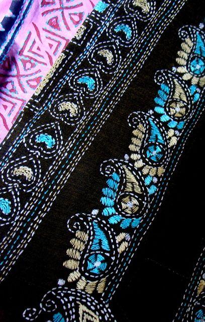 kantha embroidery - Google Seawch