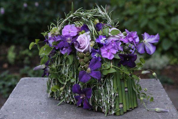 botanical purse with purple flowers8, Françoise Weeks