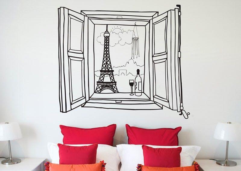 Creativas Ideas De Como Dibujar Tus Paredes Decoracion De Unas Decoracion Con Vinilos Dormitorios