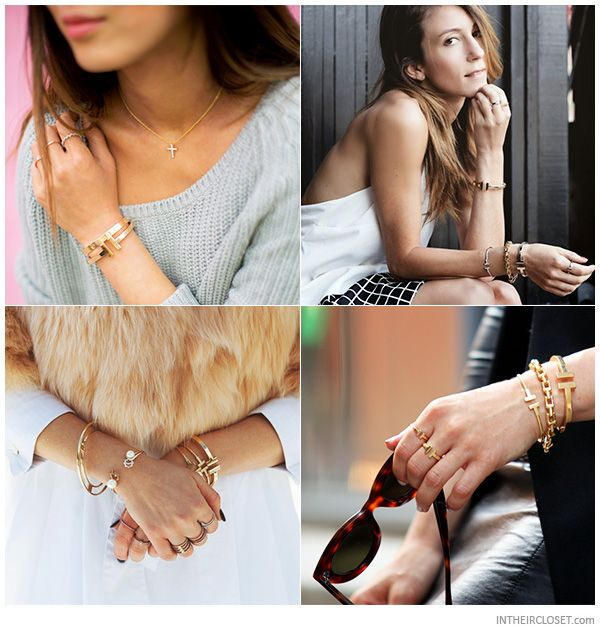 4ae0d4ebe132e Style Bloggers wearing a Tiffany T Square Bracelet | jewels ...