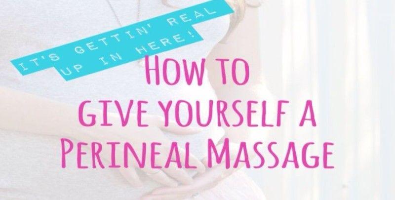 Aceite almendras masaje perineal massage