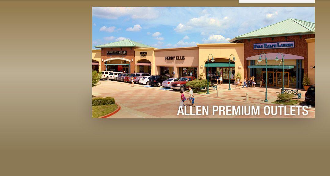 Allen Premium Outlets Dfwandbeyond Premium Outlets Dallas Shopping Outlet Mall