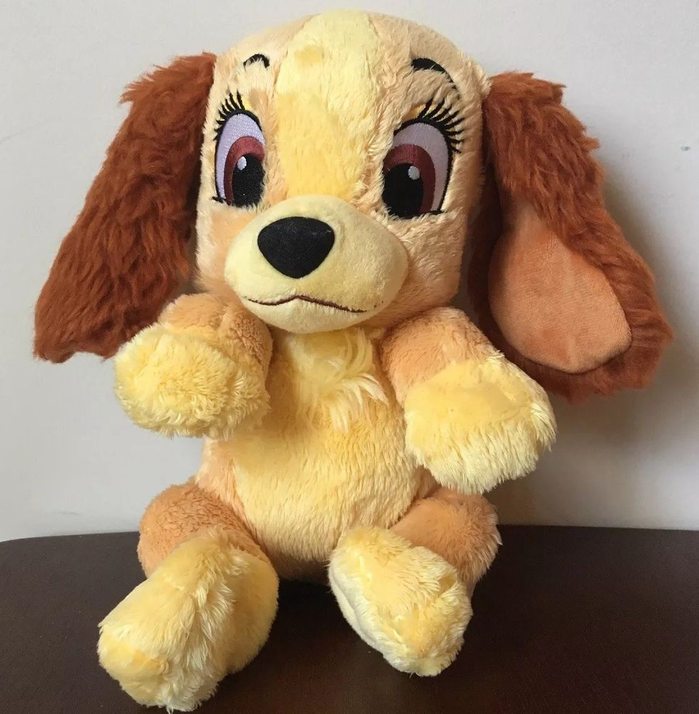 Lady And The Tramp Disney Baby Lady Puppy Dog Plush 11 Toys