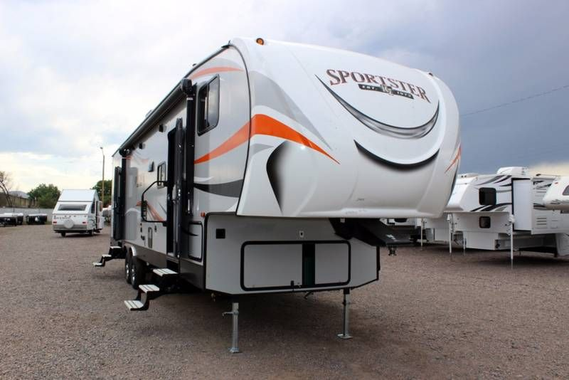 New 2018 KZ K-z Rv SPORTSTER 331TH13, Toy Haulers 5th Wheels For