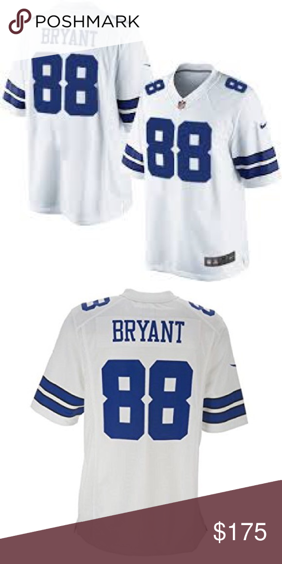 717966559 ... low price mens nike nfl dallas cowboys 88 dez bryant jersey white  limited road jersey of