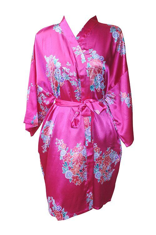 Classic Floral Bridesmaid robes – Klassy Bridal | Classic Collection ...