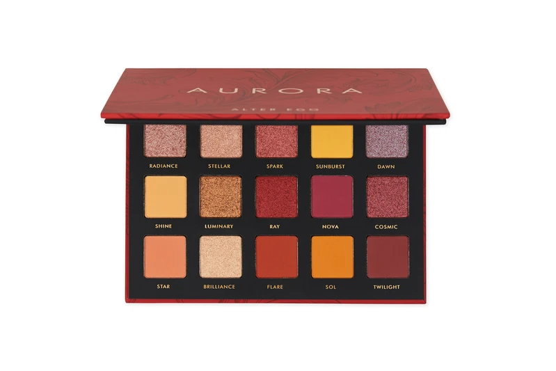 Aurora 15 Color Eyeshadow Collection in 2020 Eyeshadow