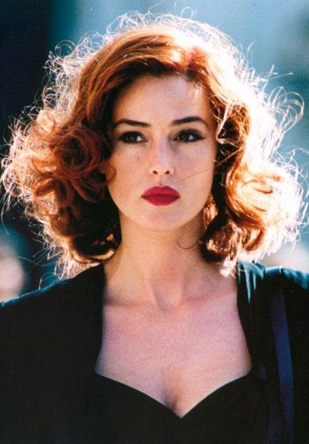 Hair Colors Ideas By Hot Brunette Monica Bellucci New Hair Color Ideas Trends For 2017