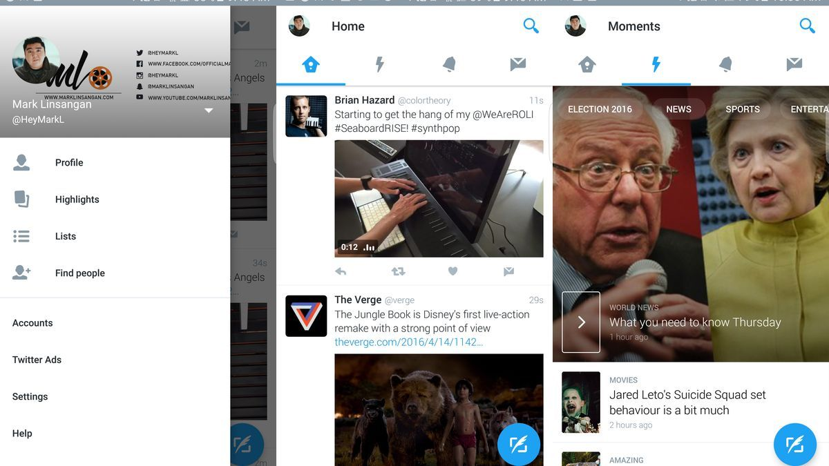 Twitter is testing a much better design for its Android app