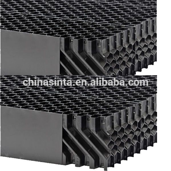 H125 Chamber Type Pvc Cooling Towers Drift Eliminators Cooling Tower Manufacturing Pvc