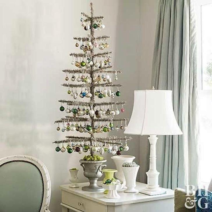 54 Fabulous Christmas Decoration Ideas For Small House #christmasdecorideasforlivingroom